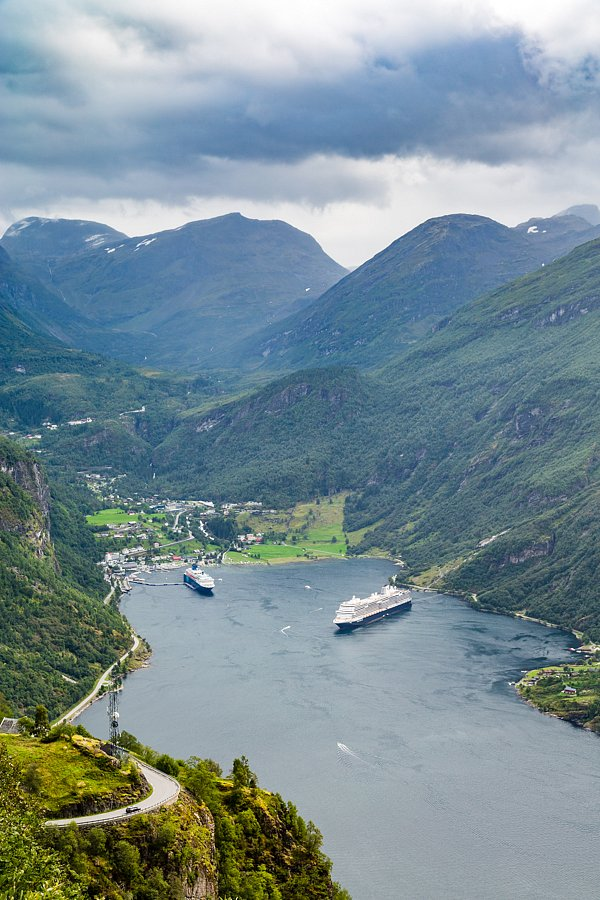 Wohin wir kamen (Geiranger, Geirangerfjord)