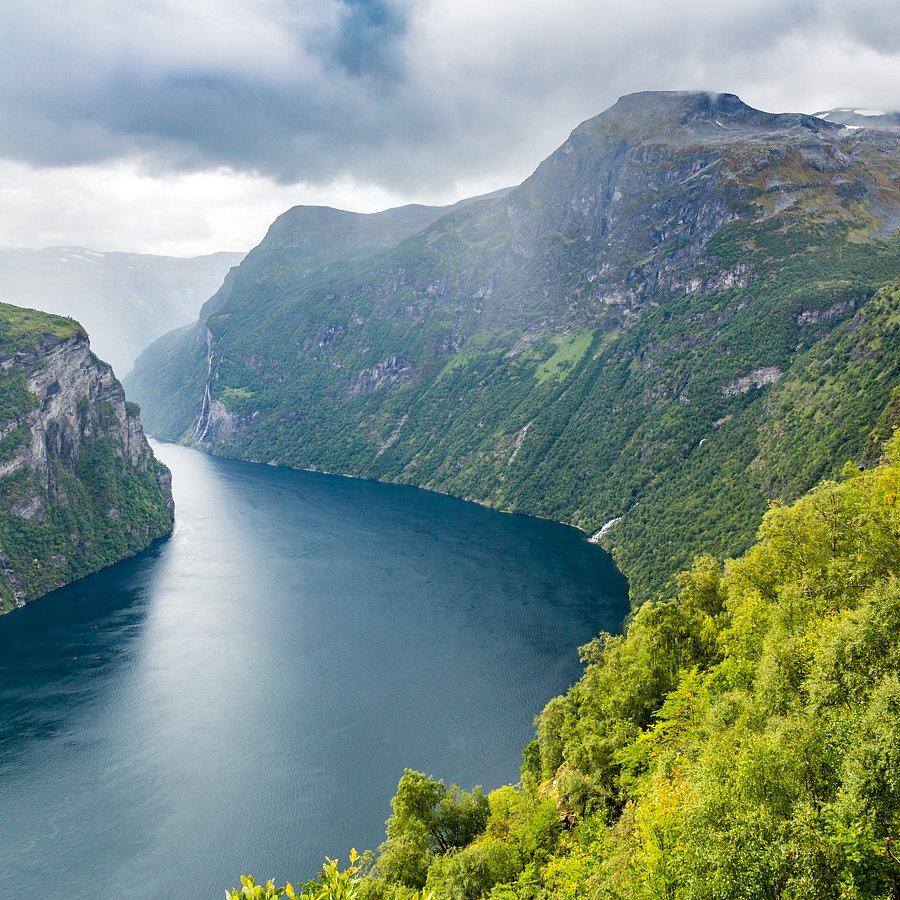 Der Schwung (Geirangerfjord)